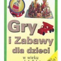 Gry i zabawy dla dzieci – książka