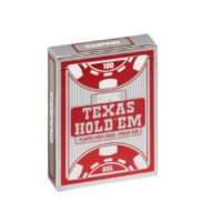 Karty Texas Hold'em Peek Silver Red