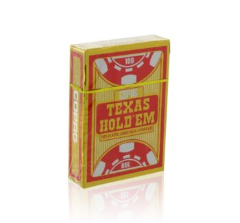 Karty Texas Hold'em Gold Red