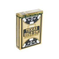 Karty Texas Hold'em Gold Black