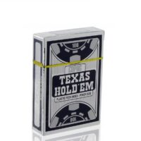 Karty Texas Hold'em Peek Silver Black
